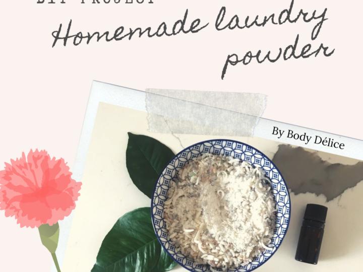 DIY: Homemade Laundry Powder