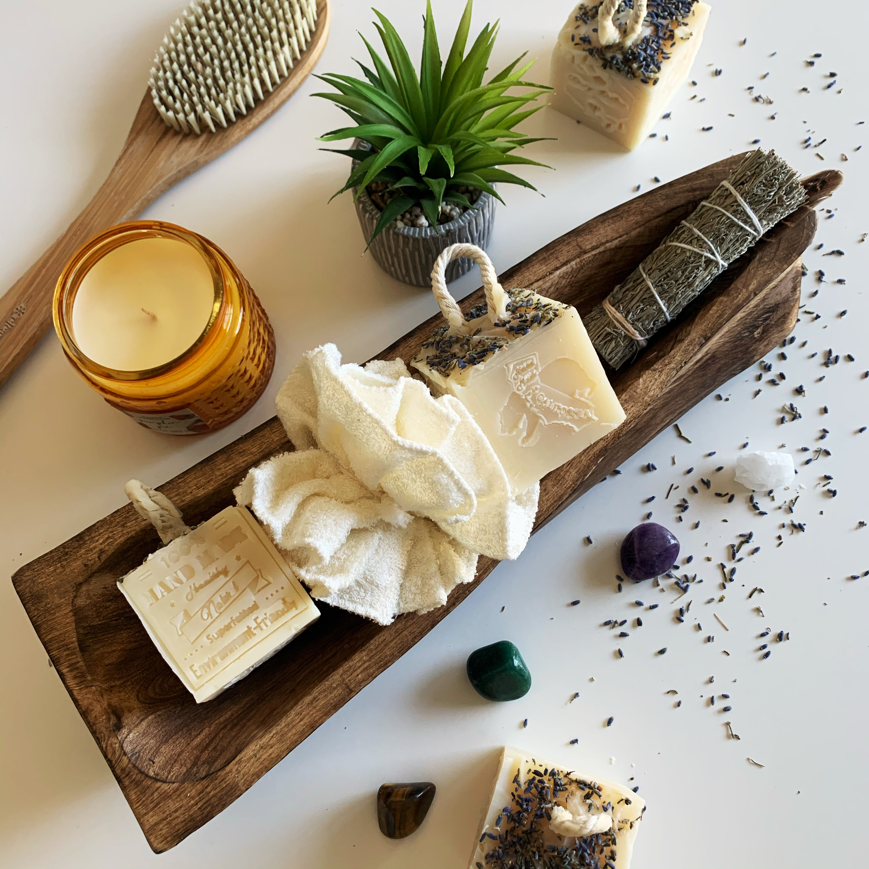 Savon de California - bath prep
